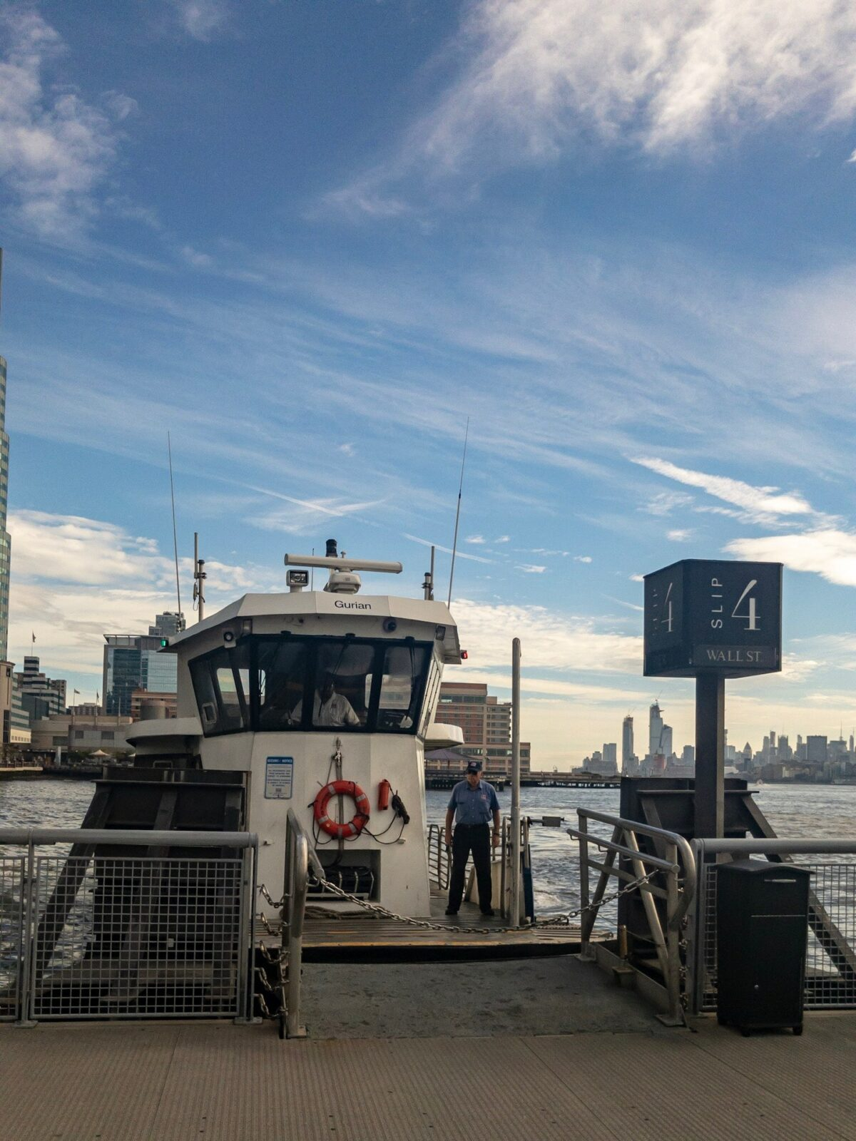 Checked in at NY Waterway Ferry Terminal Paulus Hook