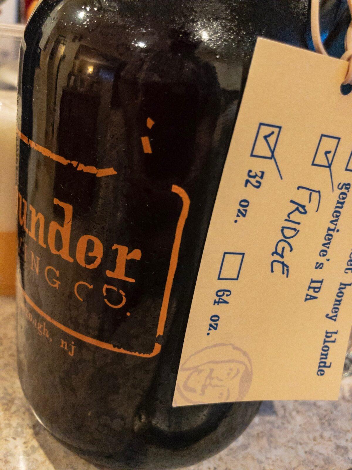 Flounder Brewing Co's Fridge