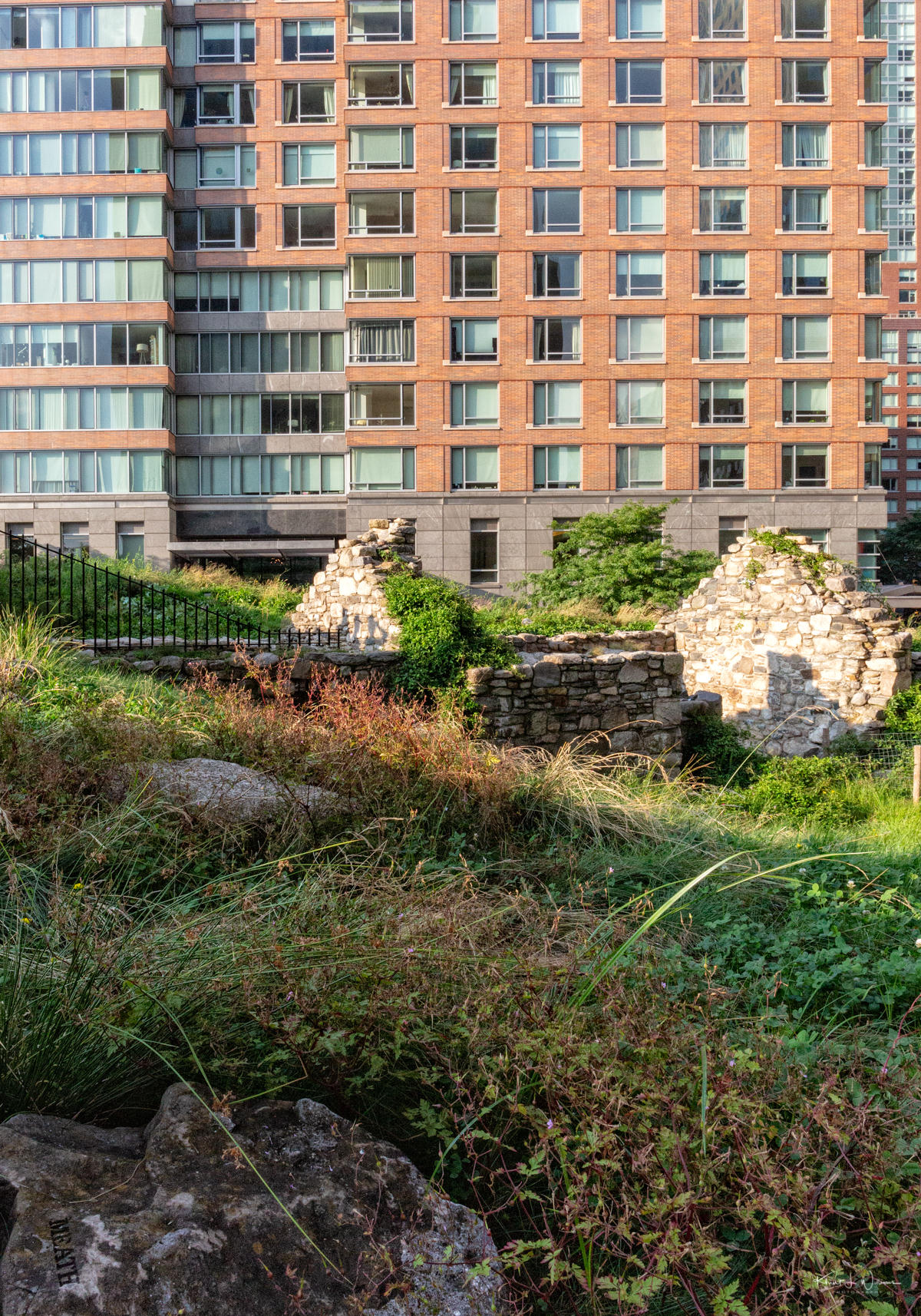 By land and by water; a field trip to the lower Manhattan cityscape