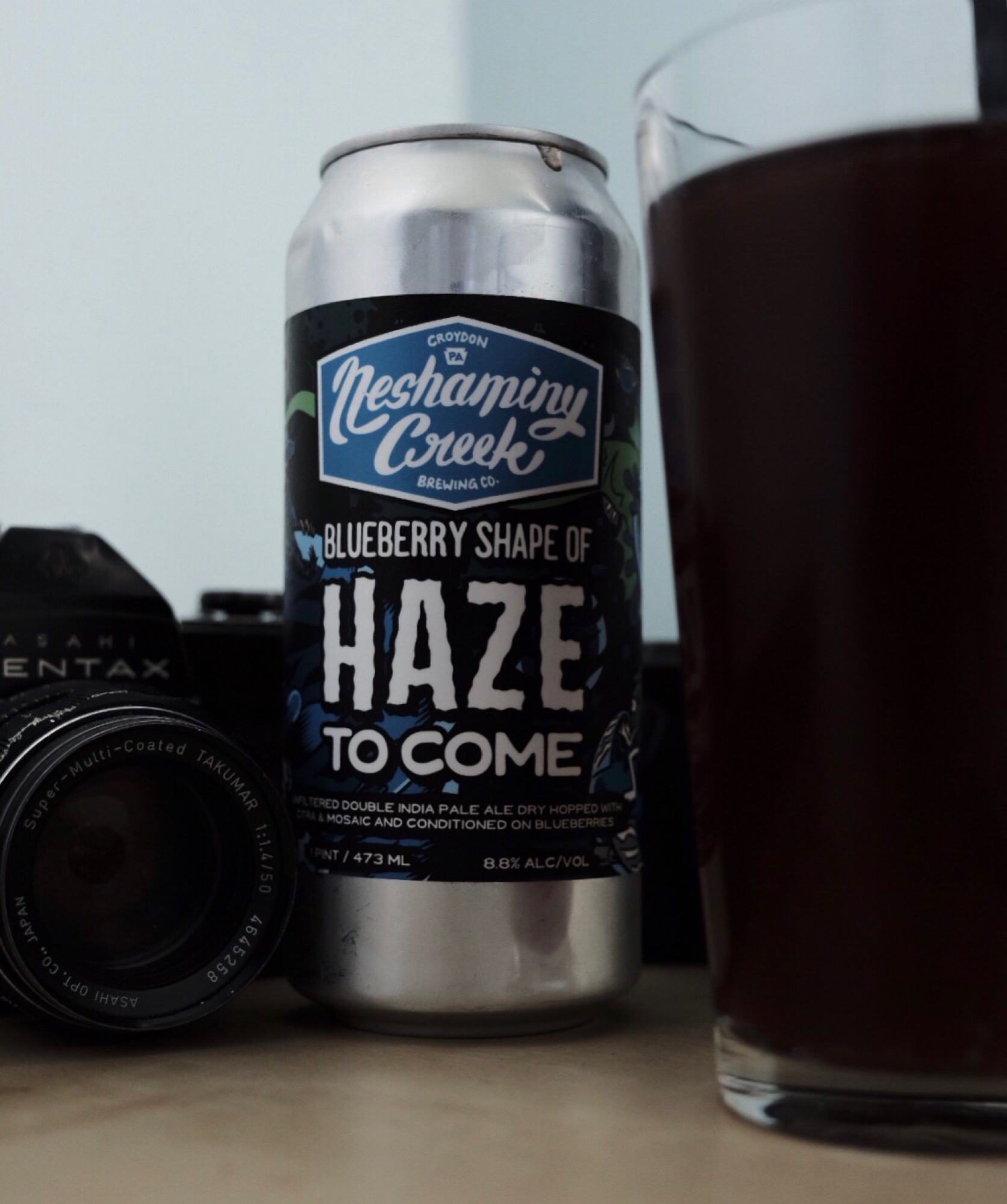 Neshaminy Creek Brewing Company 's Blueberry Shape of Haze