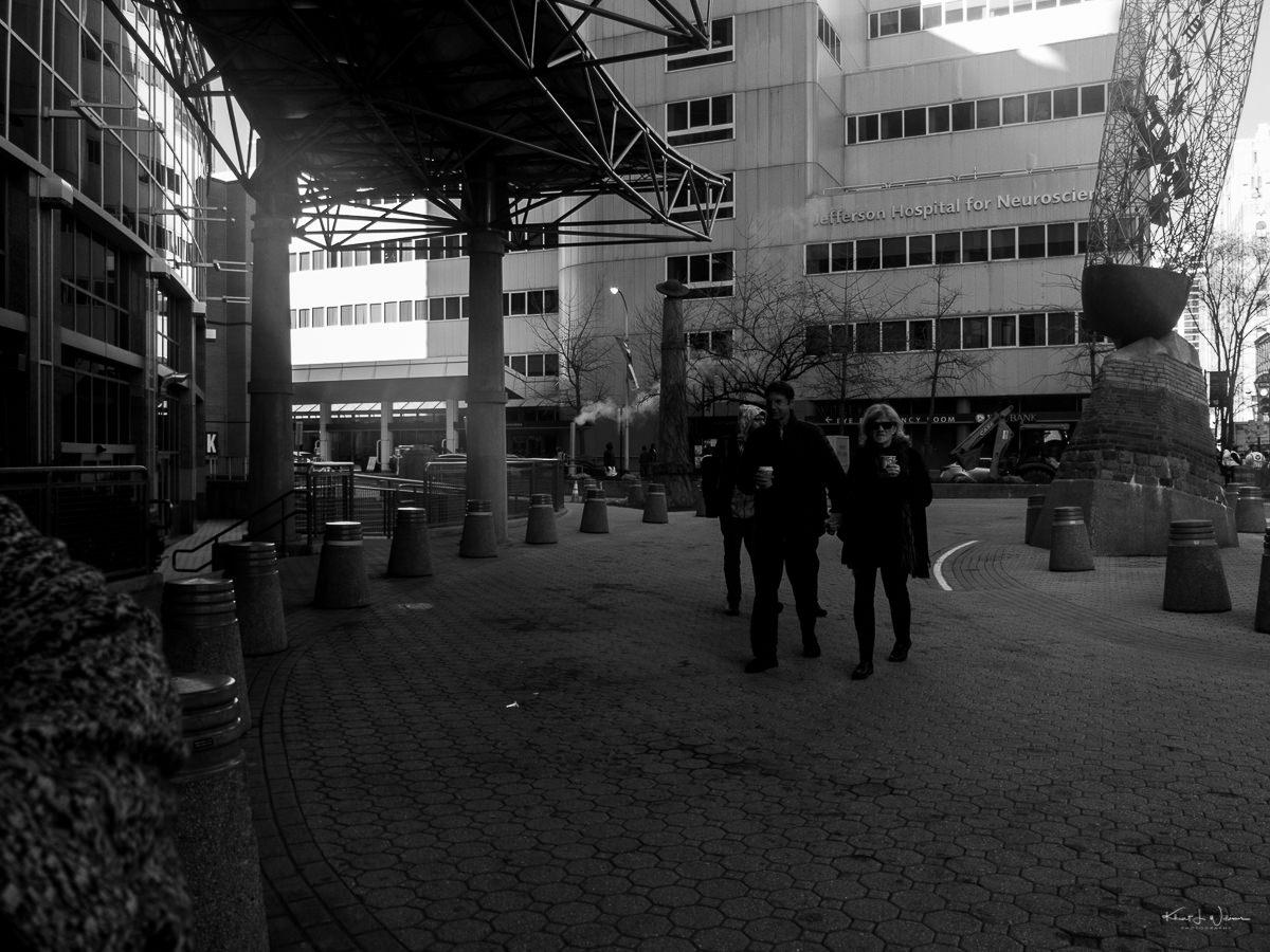 People, Walking, Courtyard, Cuty, Buildings