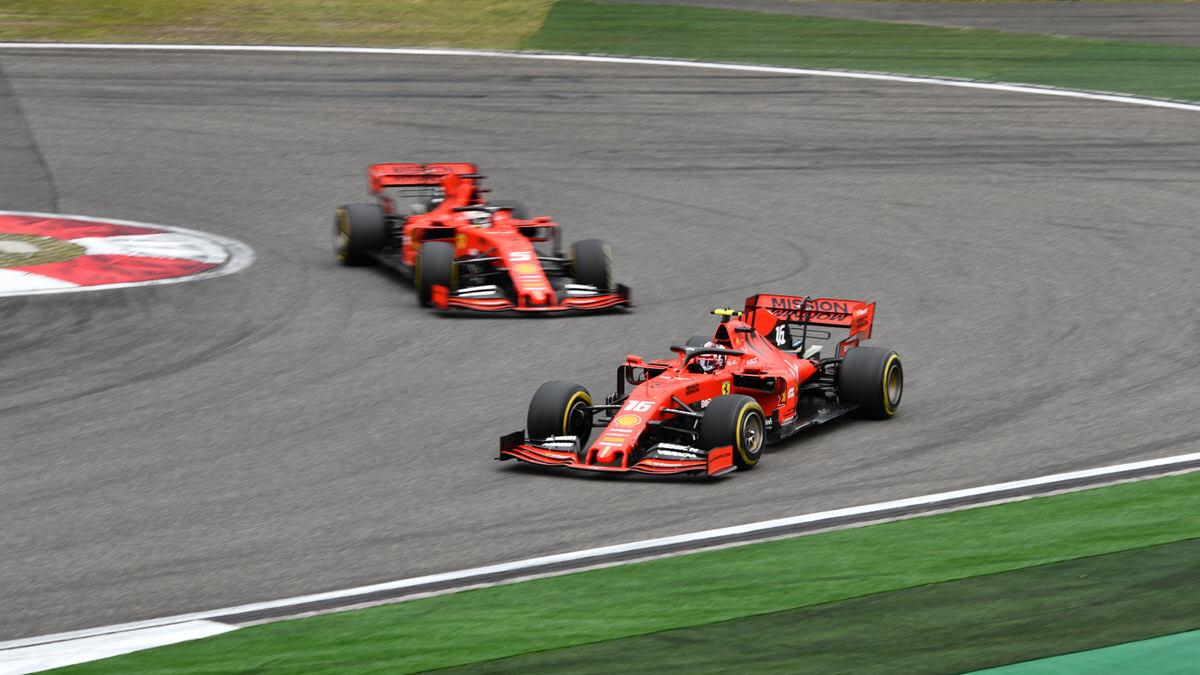 F1, 2019 Chinese Grand Prix, Ferrari, Vettel, LeClerc