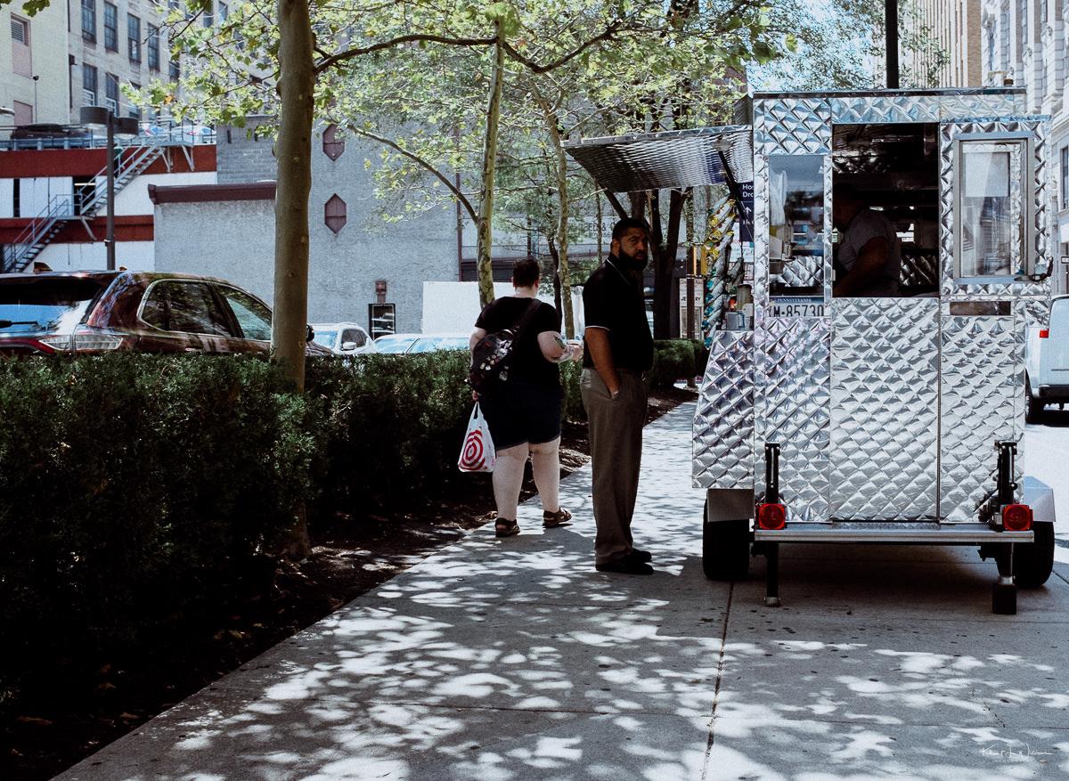 Food Truck, Man, Street