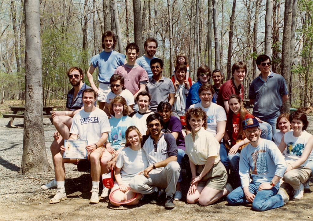 Drew University Physics Softball Circa 1988
