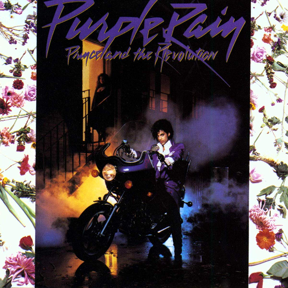 Album cover for Purple Rain by Prince and the Revolution LP