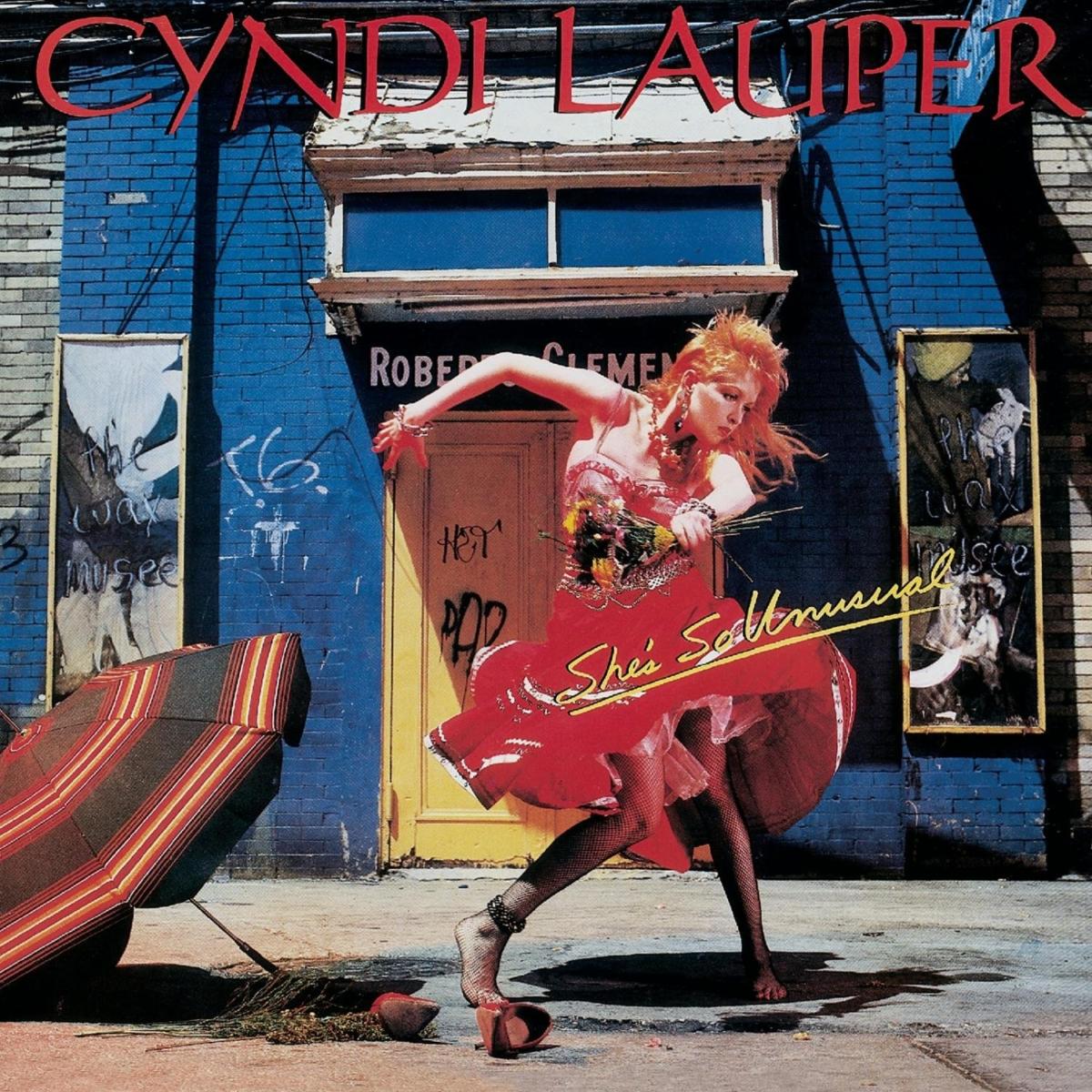 cyndi lauper she's so unusual album cover