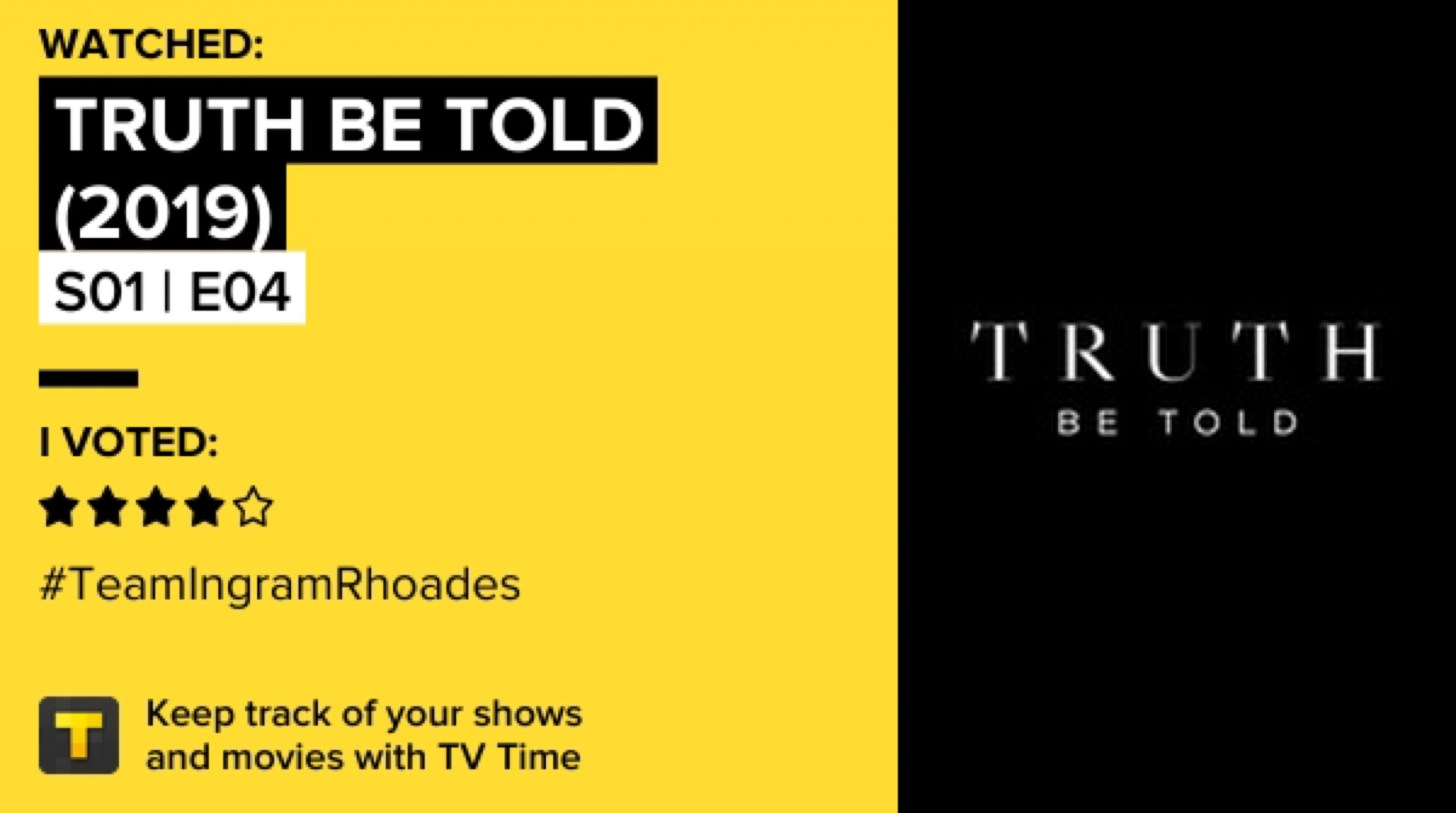 Truth Be Told (2019) - S01E04