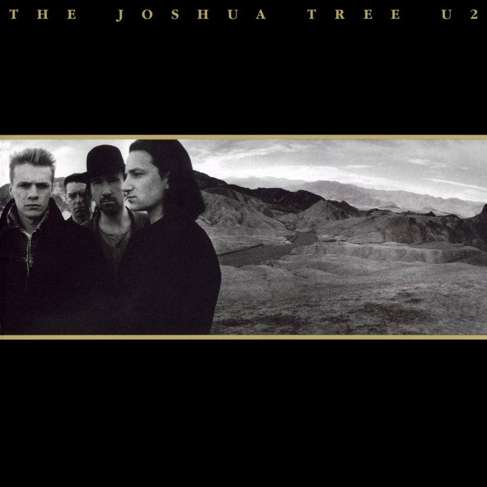 album cover for U2, Joshua Tree