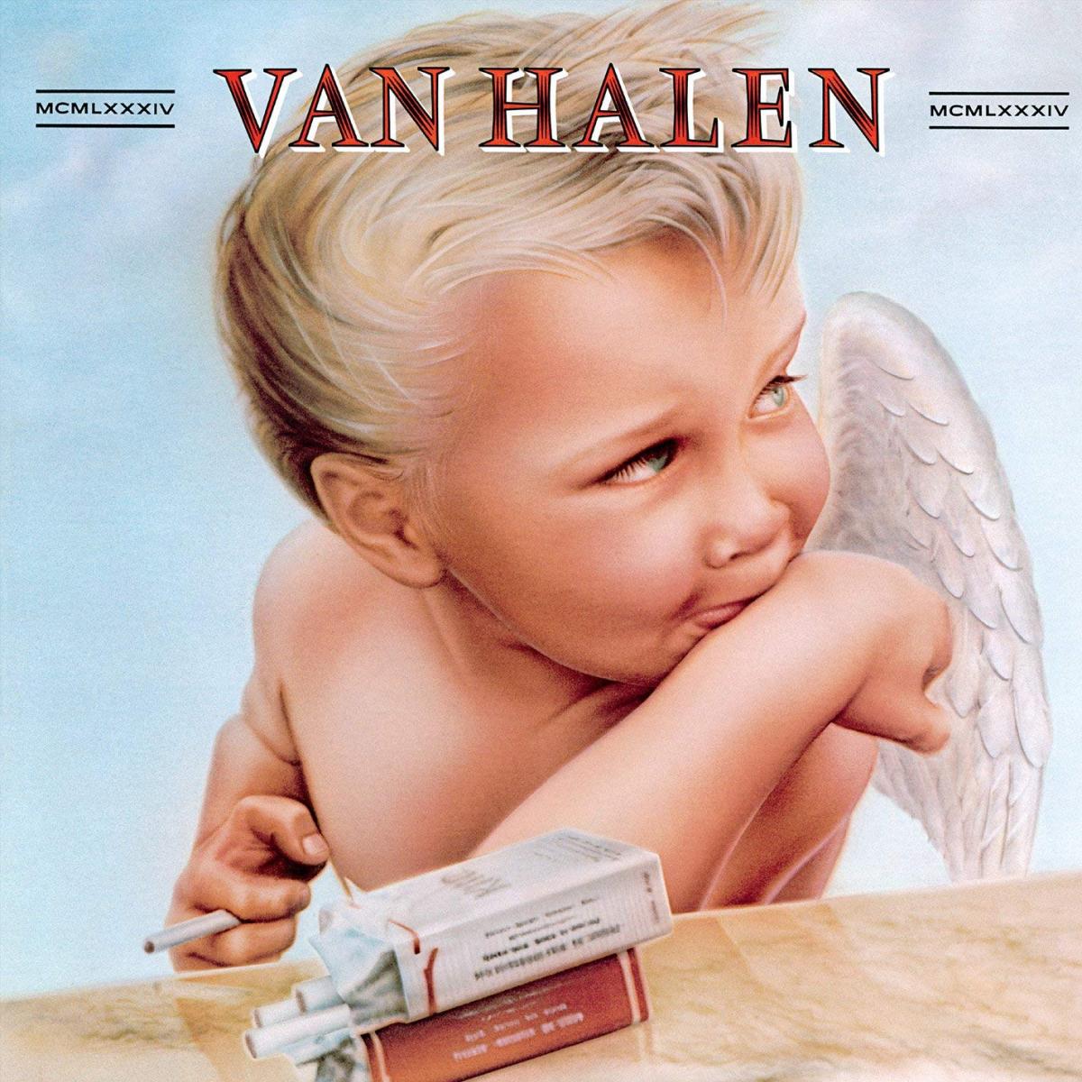 """Van Halen """"1984"""" album cover"""