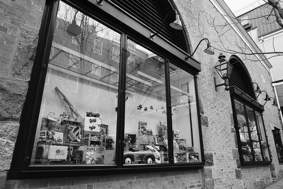 Store Window, Jazams, Palmer Square East, Princeton