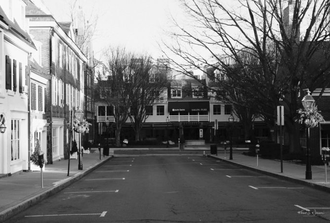 Buildings, Store Fronts, Street, Palmer Square West, Princeton, New Jersey