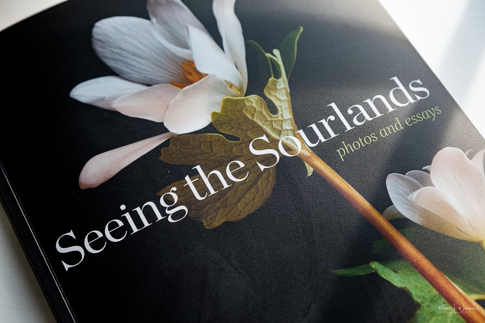 Book Cover, Seeing the Sourlands Book, Book
