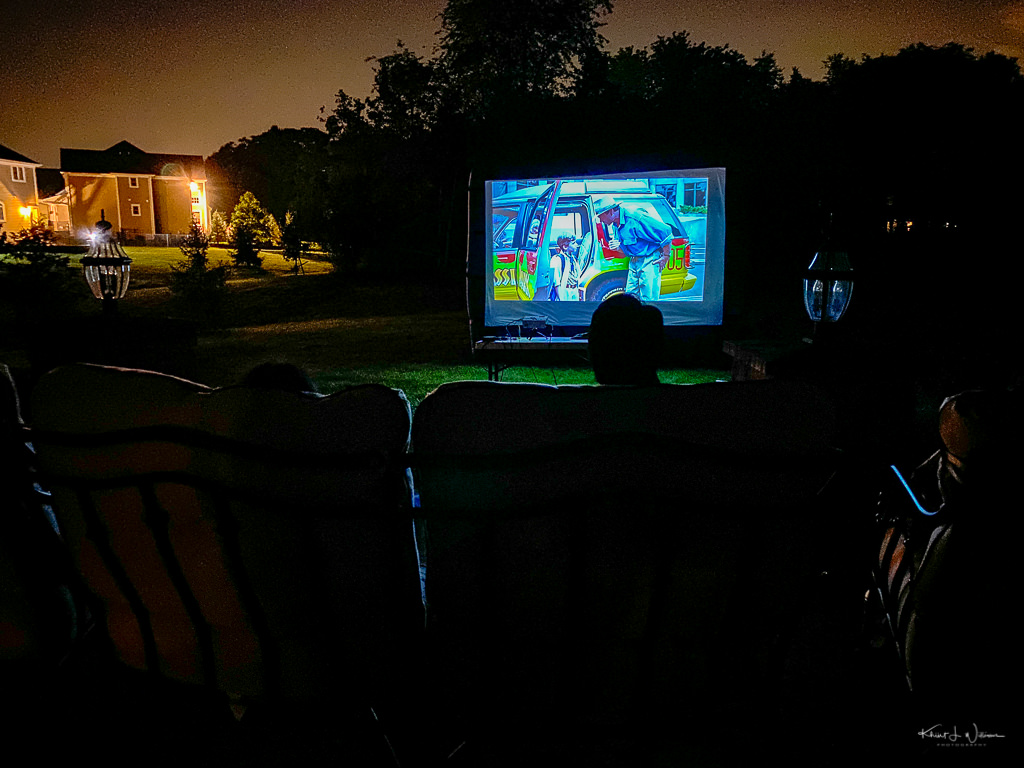 """watching Jurassic Park with """"the boys"""""""