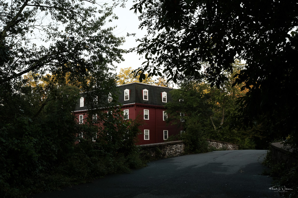 kingston mill house as seen from old lincoln highway
