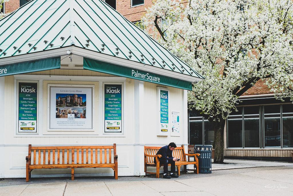 Palmer Square Kiosk, Nassau Street, Princeton, New Jersey