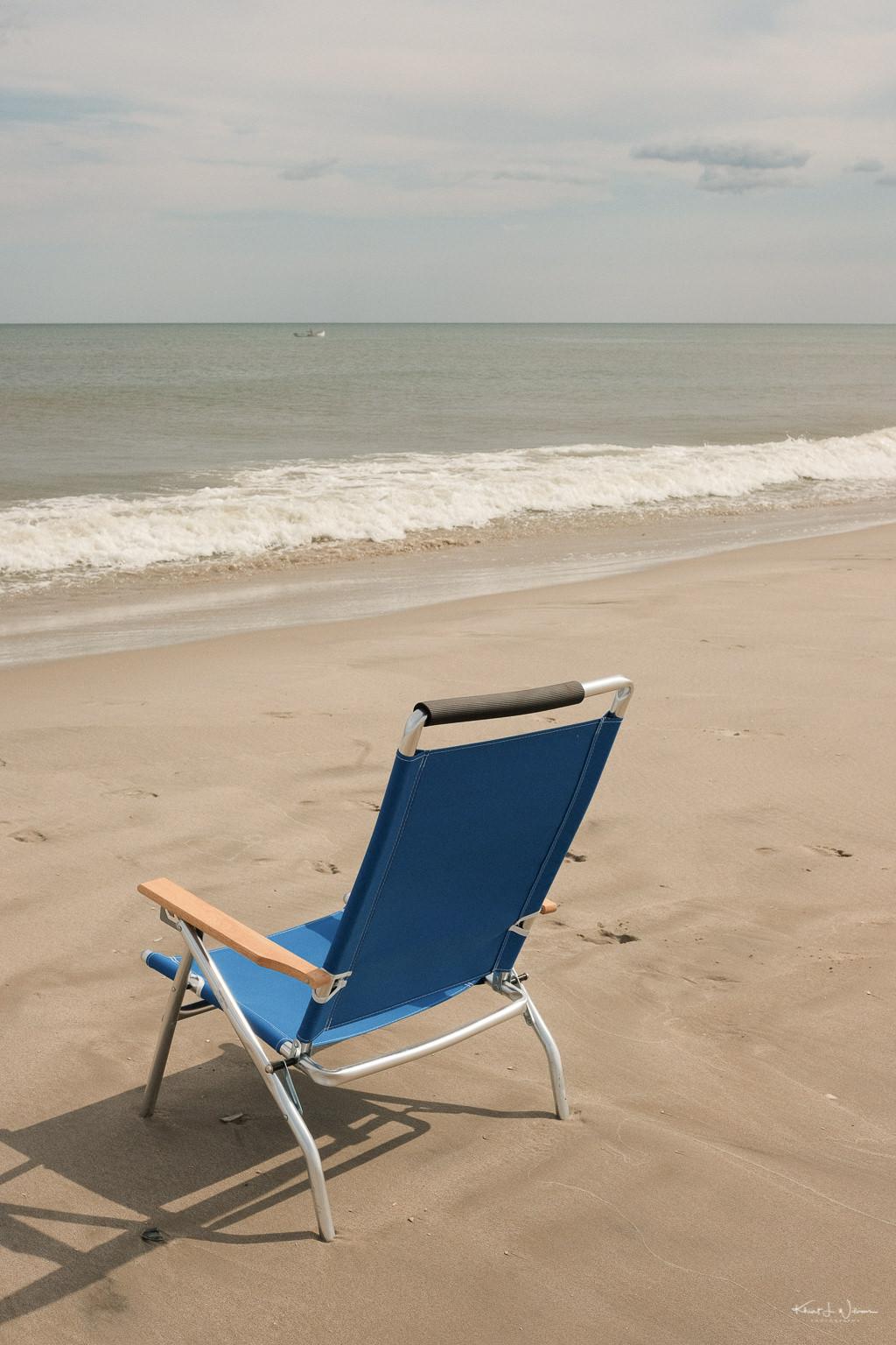 Beach Chair Beach Scene