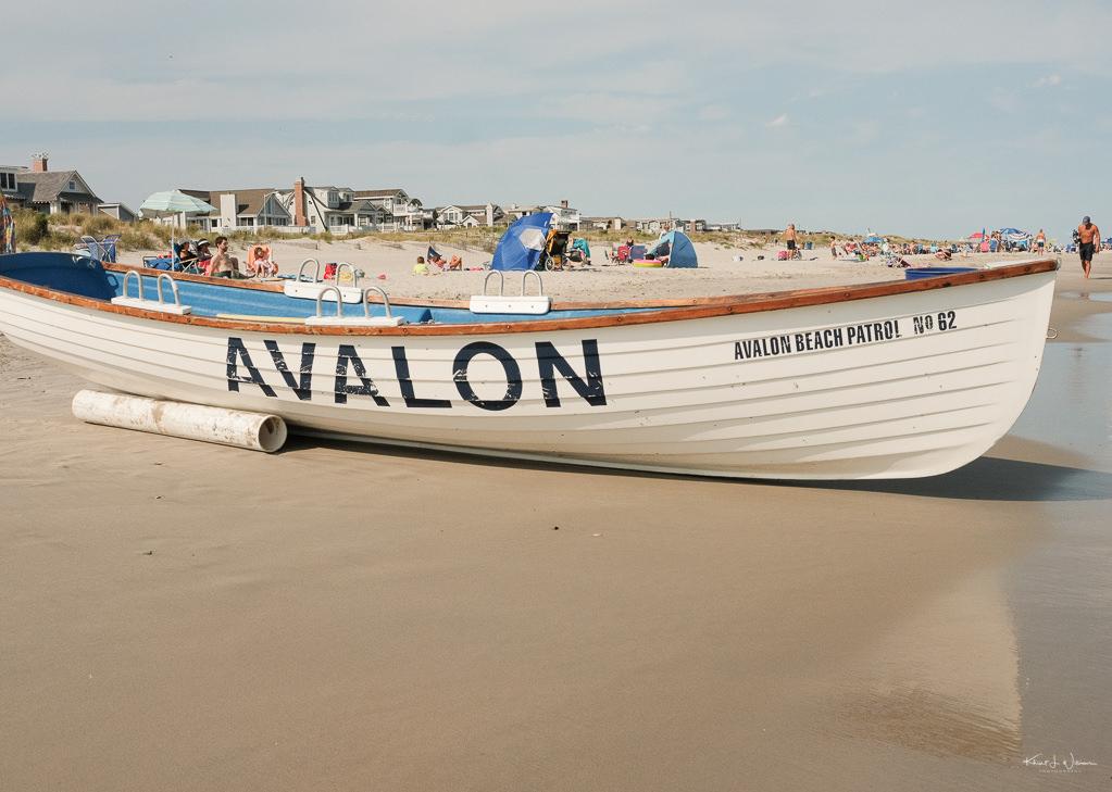 Beach Scene Life Boat