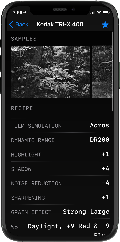 Film Recipes Kodak Tri-X 400 Recipe