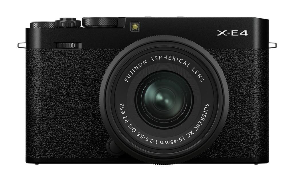 Fujifilm X-E4 XF27mmF2.8 R WR Black