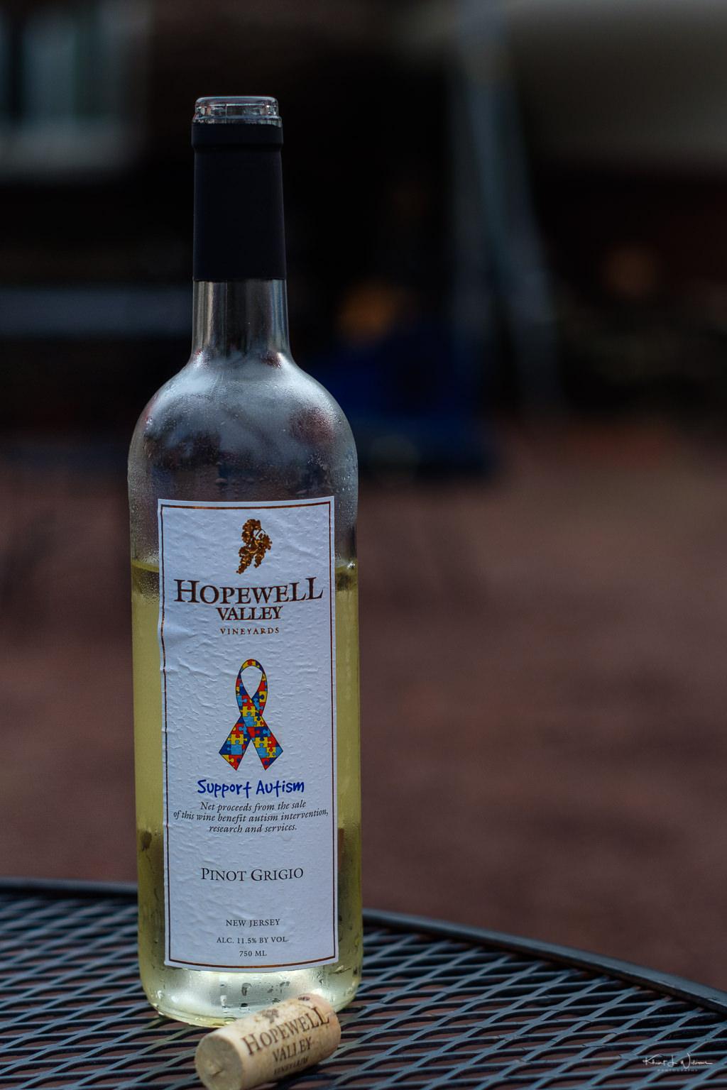 Hopewell Valley Vineyard Pinot Grigio
