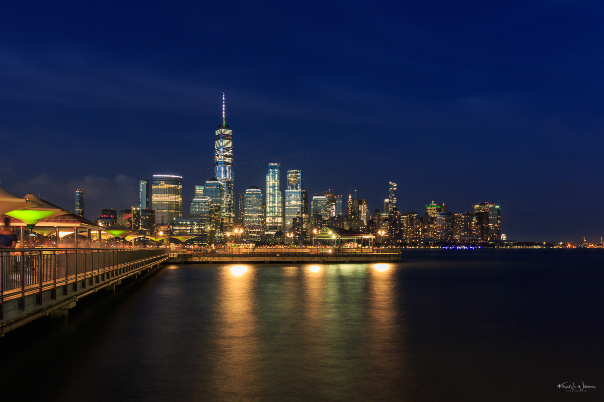 Lower Manhattan from J. Owen Grundy Park, Jersey City