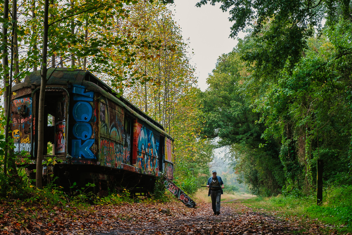 abandoned freight car, lamberville, new jersey